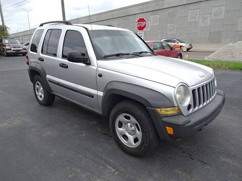 2007 Jeep Liberty for sale at DONNY MILLS AUTO SALES in Largo FL