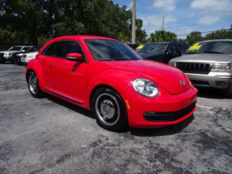 2012 Volkswagen Beetle for sale at DONNY MILLS AUTO SALES in Largo FL