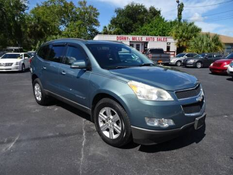 2009 Chevrolet Traverse for sale at DONNY MILLS AUTO SALES in Largo FL
