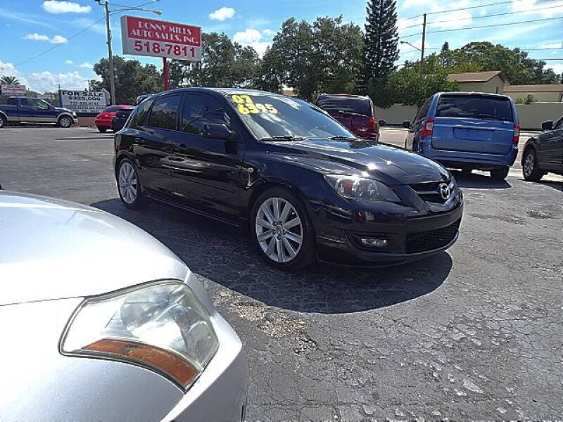 2007 Mazda MAZDASPEED3 for sale at DONNY MILLS AUTO SALES in Largo FL