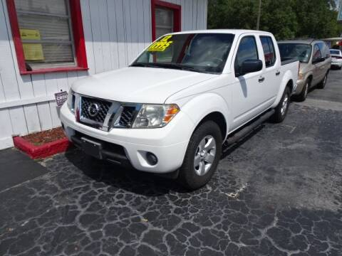 2012 Nissan Frontier for sale at DONNY MILLS AUTO SALES in Largo FL