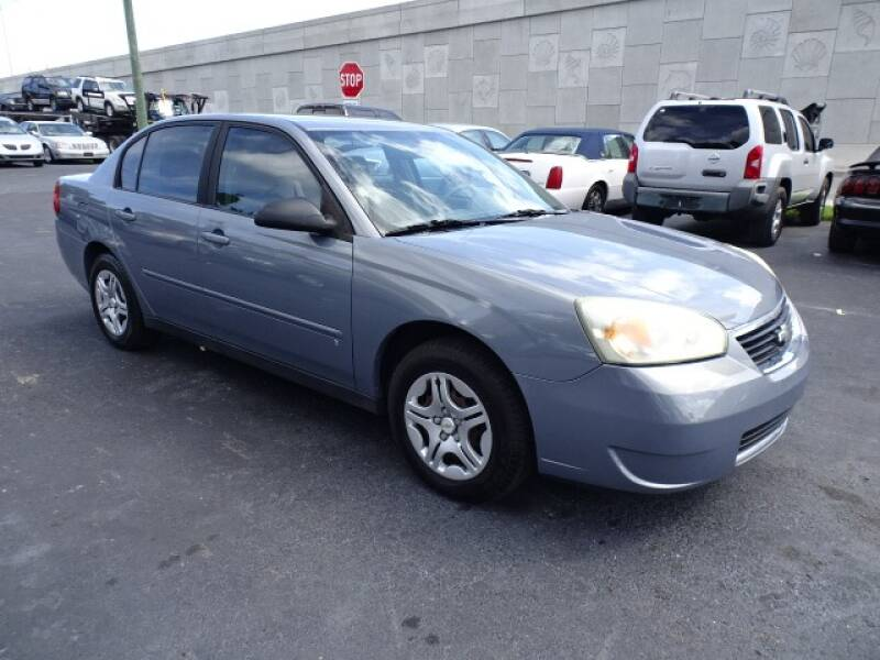 2007 Chevrolet Malibu for sale at DONNY MILLS AUTO SALES in Largo FL