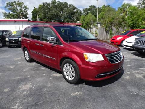2014 Chrysler Town and Country for sale at DONNY MILLS AUTO SALES in Largo FL