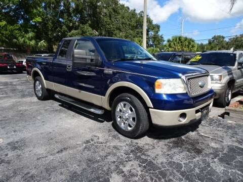 2008 Ford F-150 for sale at DONNY MILLS AUTO SALES in Largo FL