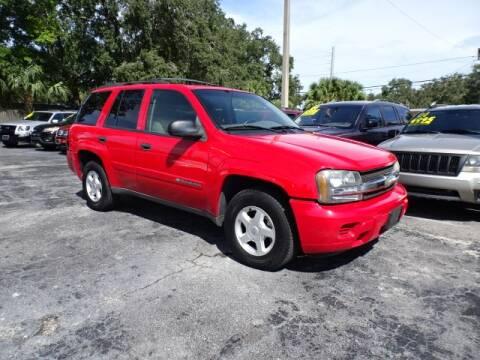 2002 Chevrolet TrailBlazer for sale at DONNY MILLS AUTO SALES in Largo FL