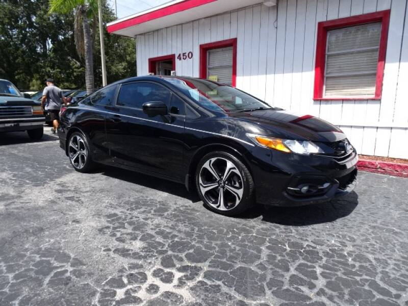 2015 Honda Civic for sale at DONNY MILLS AUTO SALES in Largo FL