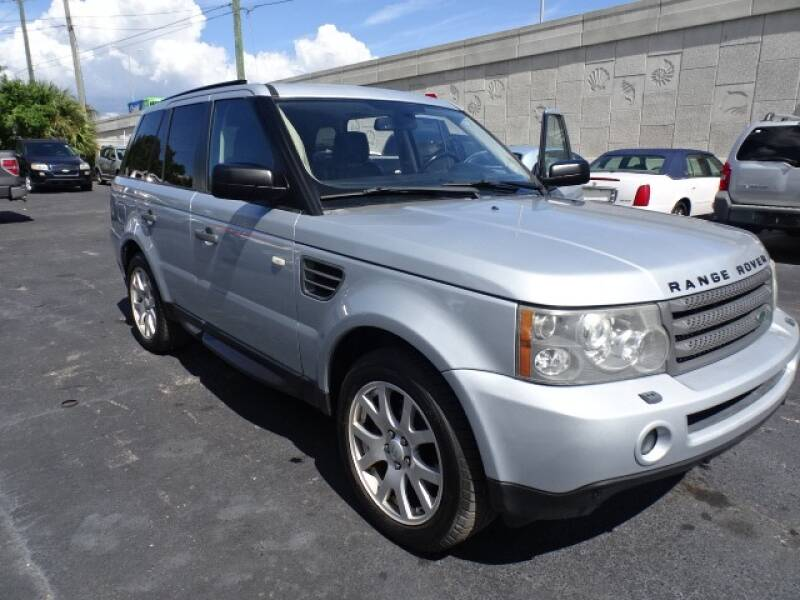 2009 Land Rover Range Rover Sport for sale at DONNY MILLS AUTO SALES in Largo FL