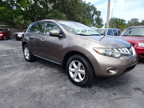 2009 Nissan Murano for sale at DONNY MILLS AUTO SALES in Largo FL