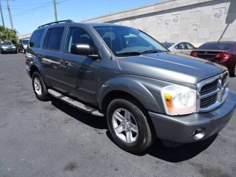 2006 Dodge Durango for sale at DONNY MILLS AUTO SALES in Largo FL