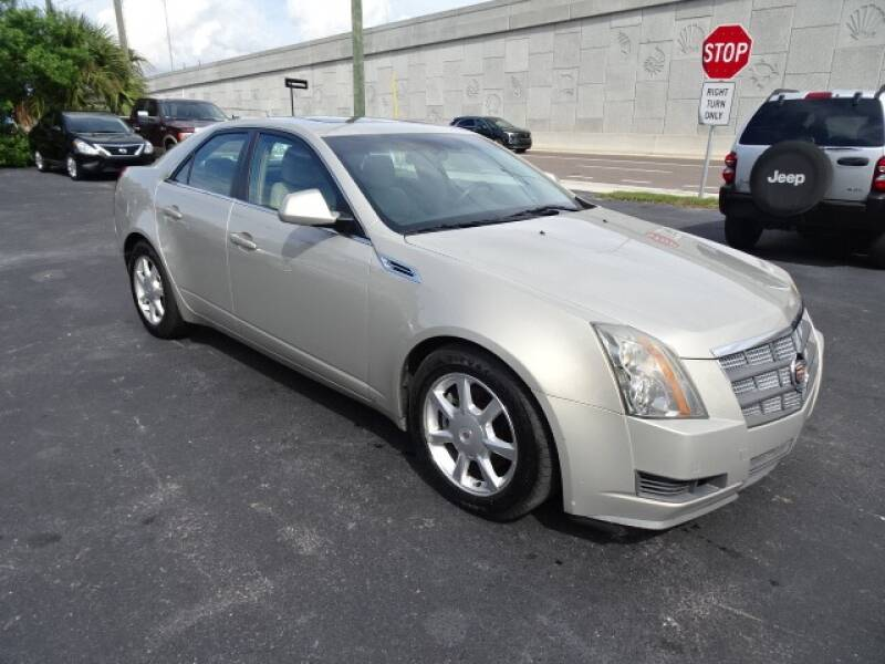2008 Cadillac CTS for sale at DONNY MILLS AUTO SALES in Largo FL