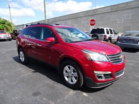 2013 Chevrolet Traverse for sale at DONNY MILLS AUTO SALES in Largo FL