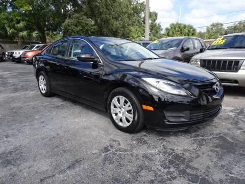 2012 Mazda MAZDA6 for sale at DONNY MILLS AUTO SALES in Largo FL