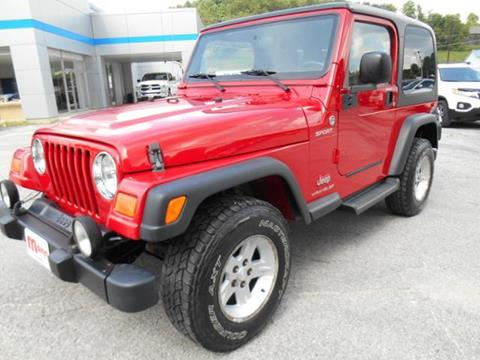 2005 Jeep Wrangler for sale in Campton, KY