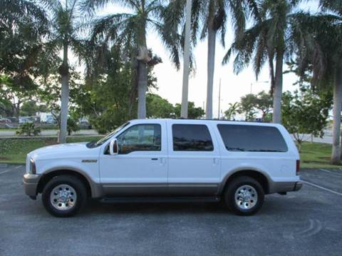 2005 Ford Excursion for sale in Ft Lauderdale, FL