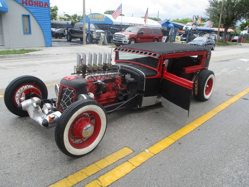 1930 Model A Rat Rod In Ft Lauderdale FL - BIG BOY DIESELS