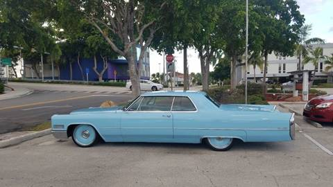 1966 Cadillac DeVille for sale at BIG BOY DIESELS in Ft Lauderdale FL