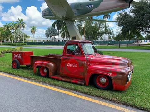 1955 Ford F-100 for sale at BIG BOY DIESELS in Ft Lauderdale FL