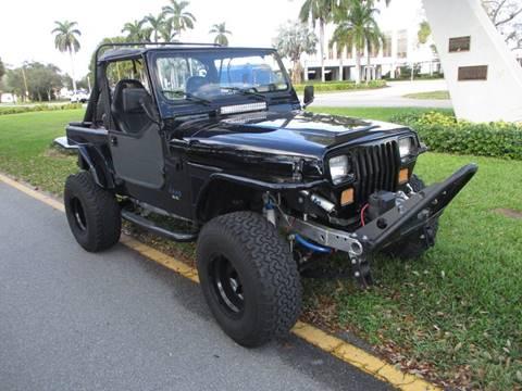 1989 Jeep Wrangler for sale in Ft Lauderdale, FL