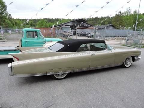 1960 Cadillac Eldorado for sale at BIG BOY DIESELS in Ft Lauderdale FL