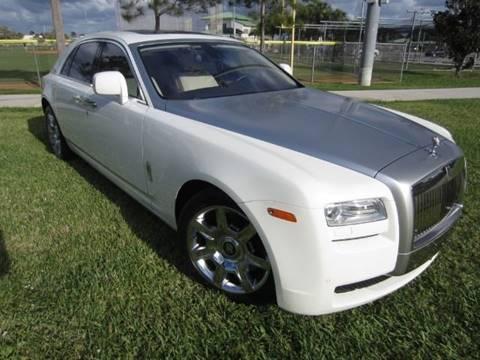 2010 Rolls-Royce Ghost for sale at BIG BOY DIESELS in Ft Lauderdale FL