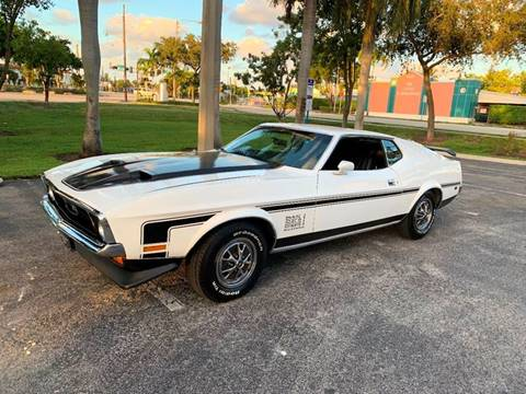 1971 Ford Mustang for sale at BIG BOY DIESELS in Ft Lauderdale FL