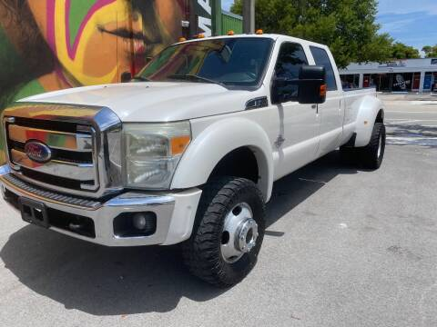 2012 Ford F-450 Super Duty for sale at BIG BOY DIESELS in Ft Lauderdale FL