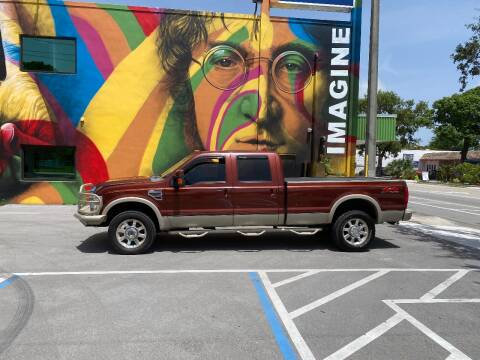 2008 Ford F-350 Super Duty for sale at BIG BOY DIESELS in Ft Lauderdale FL