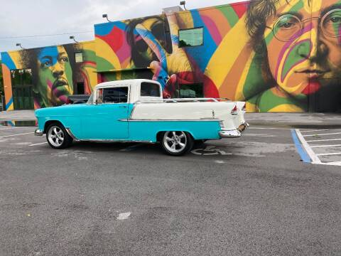 1955 Chevrolet FLOWER CAR for sale at BIG BOY DIESELS in Ft Lauderdale FL