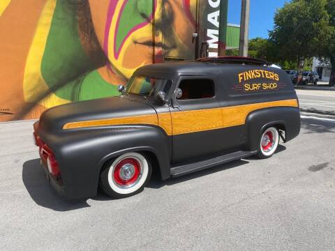 1954 Ford Panel Truck for sale at BIG BOY DIESELS in Ft Lauderdale FL