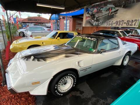 1980 Pontiac Trans Am for sale at BIG BOY DIESELS in Ft Lauderdale FL