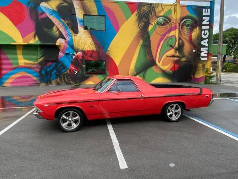 1969 Chevrolet El Camino for sale at BIG BOY DIESELS in Ft Lauderdale FL