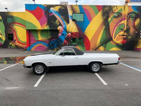 1972 Chevrolet El Camino for sale at BIG BOY DIESELS in Ft Lauderdale FL