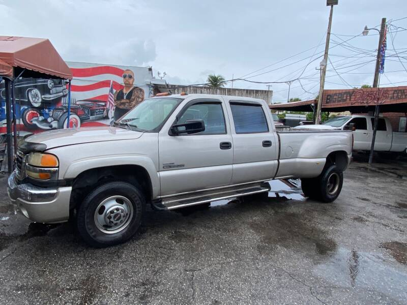 2006 GMC Sierra 3500 for sale at BIG BOY DIESELS in Ft Lauderdale FL