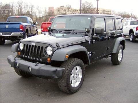 2011 Jeep Wrangler Unlimited for sale in Maysville, KY