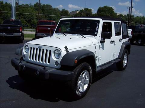 2017 Jeep Wrangler Unlimited for sale in Maysville, KY