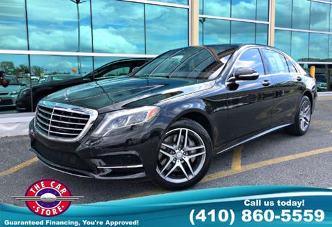2014 Mercedes Benz S Class For Sale In Salisbury, MD