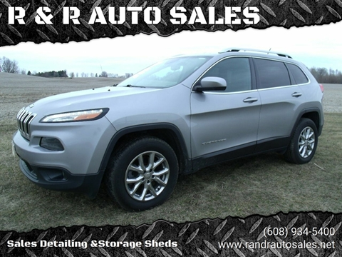 2015 Jeep Cherokee for sale at R & R AUTO SALES in Juda WI