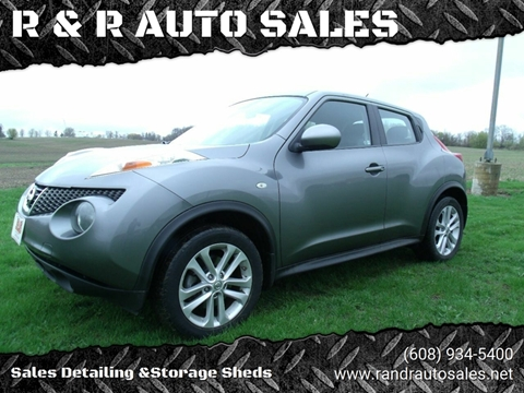 2014 Nissan JUKE for sale at R & R AUTO SALES in Juda WI
