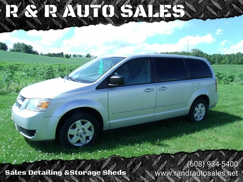 2010 Dodge Grand Caravan for sale at R & R AUTO SALES in Juda WI