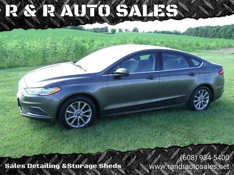 2017 Ford Fusion for sale in Juda, WI