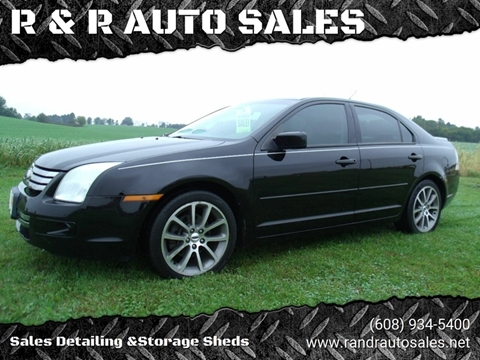 2008 Ford Fusion for sale at R & R AUTO SALES in Juda WI