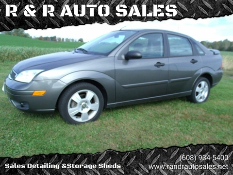 2005 Ford Focus for sale at R & R AUTO SALES in Juda WI