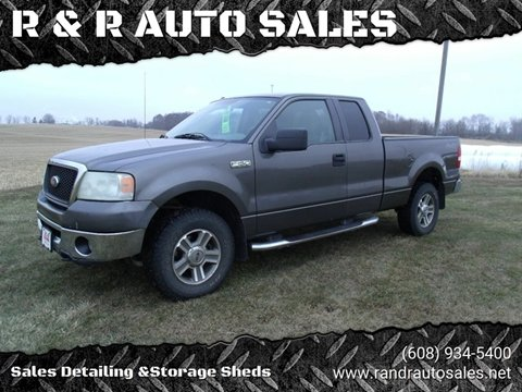 2007 Ford F-150 for sale at R & R AUTO SALES in Juda WI