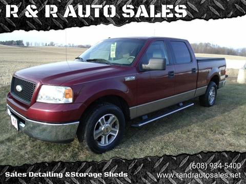 2006 Ford F-150 for sale at R & R AUTO SALES in Juda WI