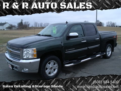 2013 Chevrolet Silverado 1500 for sale at R & R AUTO SALES in Juda WI
