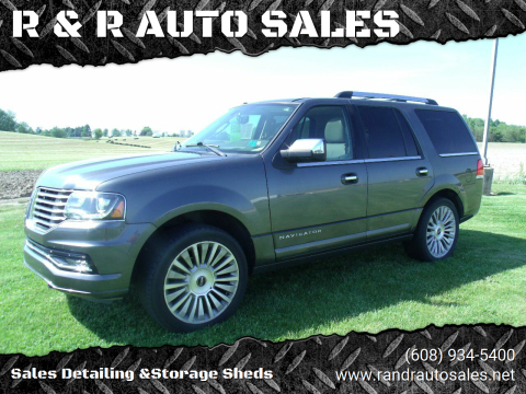 2015 Lincoln Navigator for sale at R & R AUTO SALES in Juda WI
