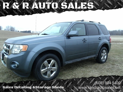 2010 Ford Escape for sale at R & R AUTO SALES in Juda WI