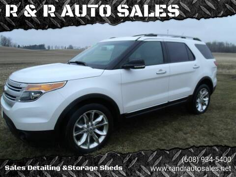 2014 Ford Explorer for sale at R & R AUTO SALES in Juda WI
