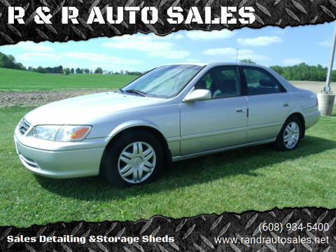 2001 Toyota Camry for sale at R & R AUTO SALES in Juda WI