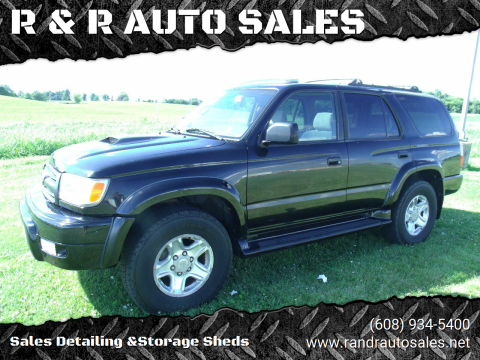 2000 Toyota 4Runner for sale at R & R AUTO SALES in Juda WI